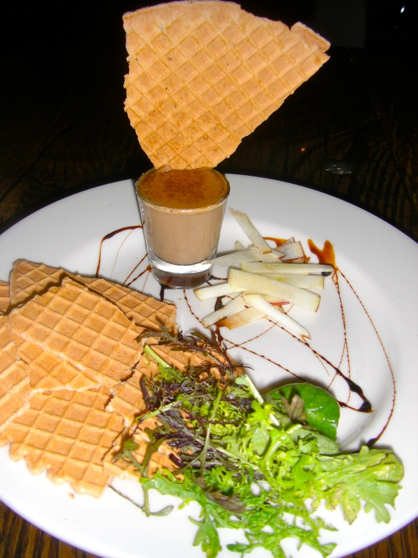 Bruleed Chicken Liver Pate