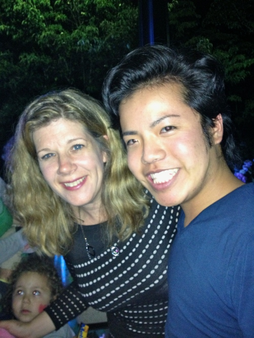 With Dar Williams!