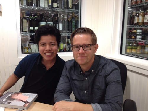 With Richard Blais!